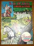 Samedi Jeunesse Mensuel N°64: Février 1963: Richard Cœur De Lion - Samedi Jeunesse