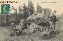 PAULMY DOLMEN DE LA PIERRE-CHAUDE 37 - Non Classés