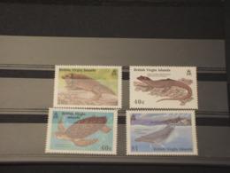 VIRGIN - 1988 FAUNA  4 VALORI  - NUOVI(++) - Britse Maagdeneilanden