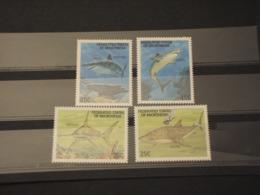 MICRONESIA - 1989  FAUNA  4 VALORI  - NUOVI(++) - Micronésie
