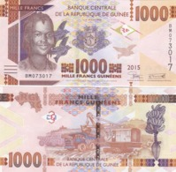 Guinea - 1000 Francs 2015 UNC Lemberg-Zp - Guinee