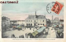 NEUVILLE-DE-POITOU HOTEL DE VILLE PLACE DU MARCHE 86 - Neuville En Poitou