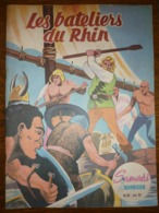 Samedi Jeunesse Mensuel N°68, Juin 1963: Les Bateliers Du Rhin - Samedi Jeunesse