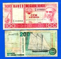 Cape Verde  2  Billets - Cap Vert