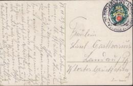 DR 431 EF Auf Postkarte Mit Stempel: Pirmasens 18.11.1929, Nothilfe Landeswappen - Duitsland