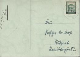 DR 463 EF Auf Postkarte Mit Stempel: Tübingen 13.6.1932 - Duitsland