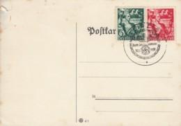 DR 660-661 Auf PK Mit Sonderstempel: Leipzig Zum 30. Januar 30.1.1938 - Briefe U. Dokumente