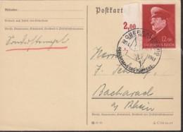 DR 772 EF Auf PK Mit Sonderstempel: Obersalzberg über Berchtesgaden Geburtstag Des F. 20.4.1941 - Briefe U. Dokumente