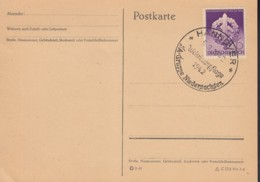 DR 818 Auf PK Mit Sonderstempel: Hannover Wehrkampftage 6.9.1942 - Duitsland