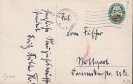 DR  398 EF, Auf AK: Zwerg Als Postbote, Mit Stempel: Göppingen 30.12.1926 - Duitsland