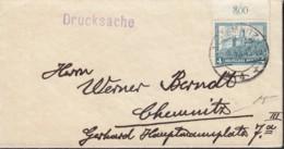 DR  474 EF, Auf AK: Brief Mit Stempel: Chemnitz 16.12.1932 - Alemania
