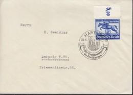 DR  746 EF, Auf Brief Mit Sonderstempel: Hamburg Großer Deutschlandpreis 30.6.1940 - Briefe U. Dokumente