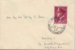 DR  813 EF, Auf Brief Mit Sonderstempel: Berlin ...zum Sieg 20.4.1942 - Briefe U. Dokumente