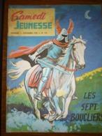 Samedi Jeunesse Mensuel N°133: Novembre 1968: Les Sept Boucliers - Samedi Jeunesse