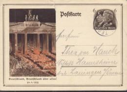 DR  P 250, Mit Stempel: Tegernsee 19.MAI 1934 - Allemagne