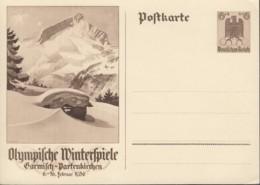 DR  P 257, Ungebraucht, Olympische Winterspiele 1936 - Deutschland