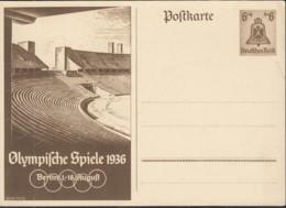 DR  P 259, Ungebraucht, Olympische Sommerspiele 1936 - Deutschland