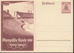 DR  P 260, Ungebraucht, Olympische Sommerspiele 1936 - Deutschland