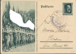 DR  P 264/04, Mit Stempel: Nürnberg Reichsparteitag 11.9.1937 - Allemagne