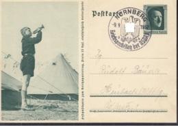 DR  P 264/07, Mit Stempel: Nürnberg Reichsparteitag 9.9.1937 - Deutschland