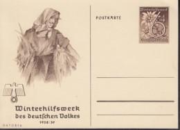 DR  P 274/01, Ungebraucht, WHW 1938 - Stamped Stationery
