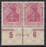 INFLA DR  197 A HAN 7519.21, Postfrisch **,  Geprüft - Infla