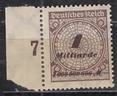 INFLA DR  325 APa, Postfrisch **,  Geprüft - Deutschland