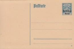 INFLA:  DR  P 128 I/o1, Ungebraucht, Wappen Am Eichenstamm 1920 - Stamped Stationery