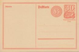 INFLA:  DR  P 153 I, Ungebraucht, Postreiter 1922 - Stamped Stationery