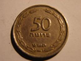 ISRAEL.. 50 PRUTAH 1949. - Israël