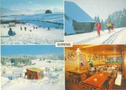 Sorens - En Hiver, Pistes De Fond  (4 Bilder)         Ca. 1980 - FR Freiburg