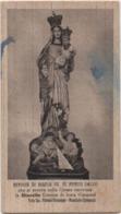 Santino Con Maria SS. Di Porto Salvo, Venerata Nella Chiesa Di Altarello Ionia (Riposto, Catania). Anno 1943 XXI - Santini