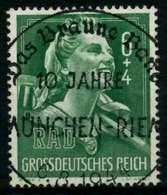 3. REICH 1944 Nr 894 Zentrisch Gestempelt X6E8EE2 - Duitsland