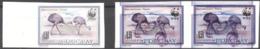 Uruguay 1993, WWF, Ostric, ERROR - Errori Sui Francobolli