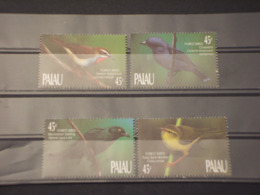 PALAU - 1990 UCCELLI 4 VALORI  - NUOVI(++) - Palau