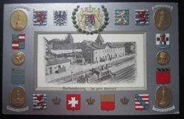 BETTEMBOURG  La Gare  Carte En Relief - Bettembourg