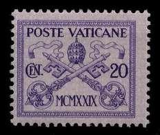 VATIKAN Nr 3 Ungebraucht X7C49CA - Vaticano (Ciudad Del)