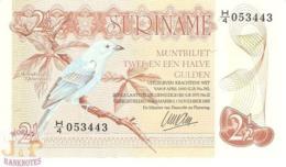 SURINAME 2,5 GULDEN 1985 PICK 119 UNC - Surinam