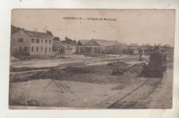 LONGUEVILLE - Le Dépot De Machines - Locomotive - France