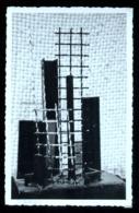 SASSARI 1964 COMPOSIZIONE IN FERRO - SCULTORE TRENTO GONNELLA  - CARTOLINA AUTOGRAFA - RARA!!! - Sculture