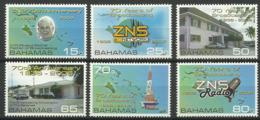 BAHAMAS 2006 70 YEARS OF BROADCASTING,RADIO SET MNH - Bahama's (1973-...)