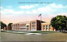Wisconsin Green Bay Washington Junior High School - Green Bay