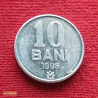 Moldova 10 Bani 1998 KM# 7  Moldavia Moldavie - Moldavië