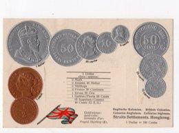 15 - MONNAIE - HONG - KONG - Représentation Des Pièces De Monnaie   *en Relief*embossed* - Monete (rappresentazioni)