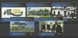 BAHAMAS 2008 100 YEARS OF ROYAL BANK OF CANADA SET MNH - Bahama's (1973-...)