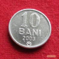 Moldova 10 Bani 2003 KM# 7  Moldavia Moldavie - Moldavië