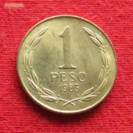 Chile 1 Peso 1985 KM# 216.1  Chili - Chili