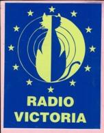 Sticker - RADIO VICTORIA - Autocollants