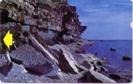 ESTONIA : ET064 D FIRST ISSUE  Rocky Beach USED - Estonie