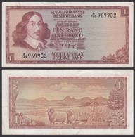 Südafrika - South Africa 1 Rand (1967) Pick 109b VF- (3-)  (25555 - Billetes